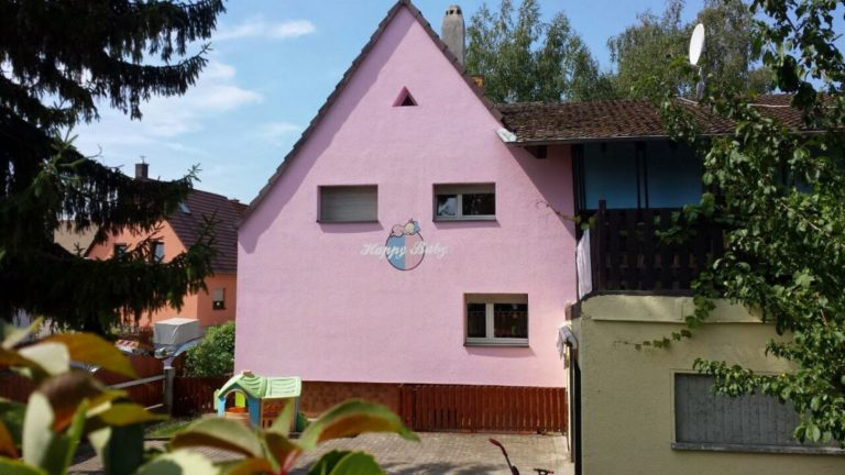 Unser Haus in der Gustav-Nachtigal-Straße 2 in Rheinau Süd