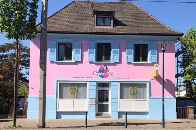 Unser neues Haus in der Relaisstraße 160 in Mannheim Rheinau, direkt an der Straßenbahn Haltestelle Mühlheimer Straße / Distelsand